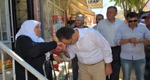 Başkan Cahan'dan Dikilitaş'a Teşekkür Ziyareti