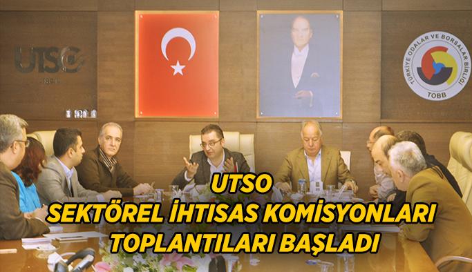 Utso Sektörel İhtisas Komisyonları Toplantıları Başladı