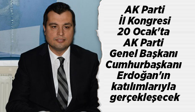 Uşak'ta AK Parti İl Kongre Süreci