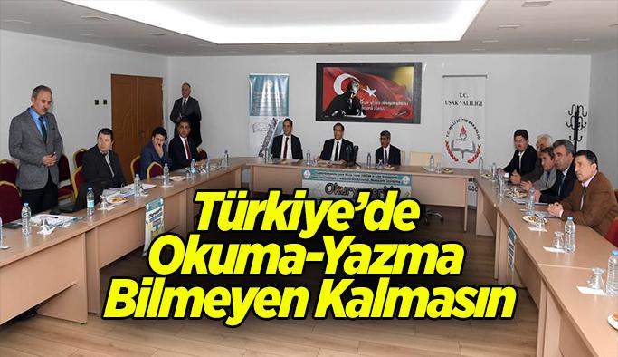 Türkiye'de Okuma-Yazma Bilmeyen Kalmasın