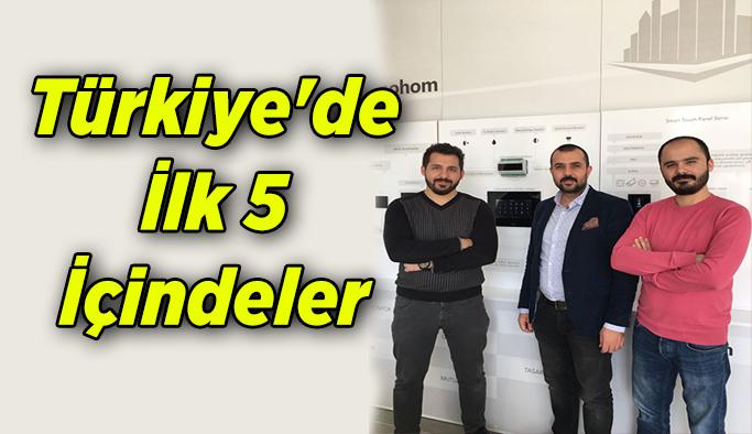 Türkiye'de İlk 5 İçindeler