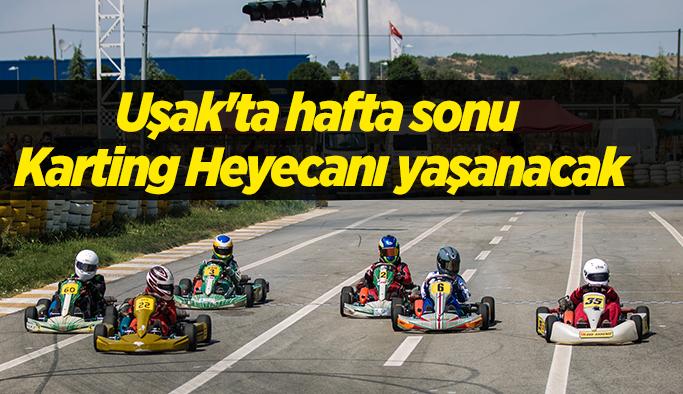 Uşak'ta hafta sonu Karting Heyecanı yaşanacak