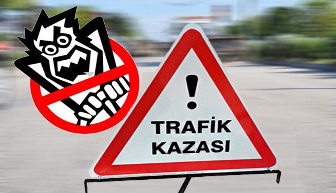 Uşak'ta Motosiklet Kazası 1 Ölü, 1 Yaralı