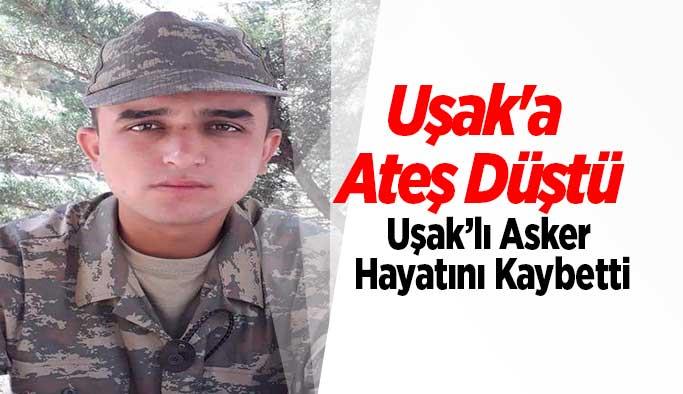 Uşak'a acı haber İstanbul'dan  geldi