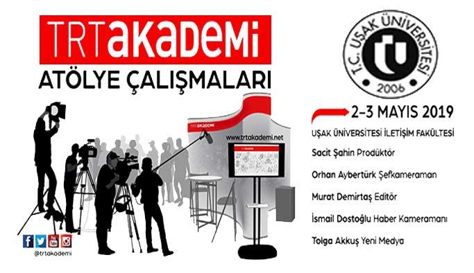 TRT'den Uşak Üniversitesi'ne çıkarma