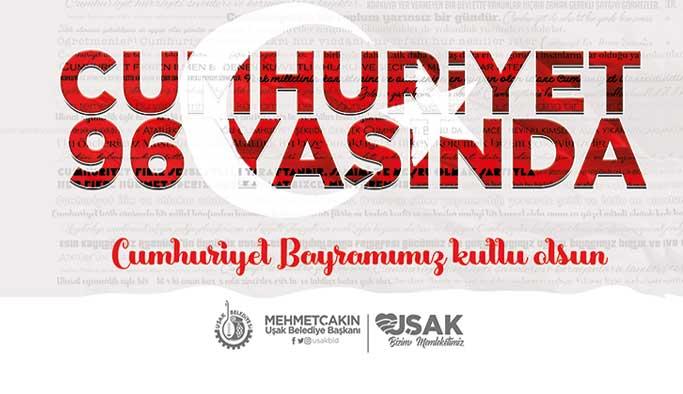 Başkan Çakın'ın 29 Ekim Cumhuriyet Bayramı Mesajı yayımladı