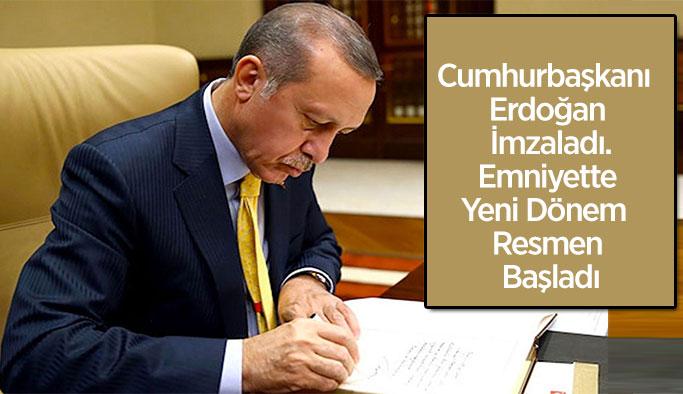Cumhurbaşkanlığı kararıyla Emniyet'te yeni şube müdürlüğü kuruldu