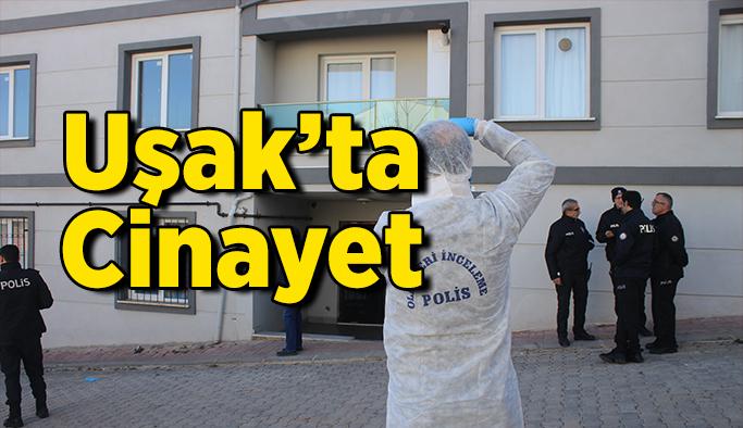 Uşak'ta Cinayet, Evinde Öldürüldü