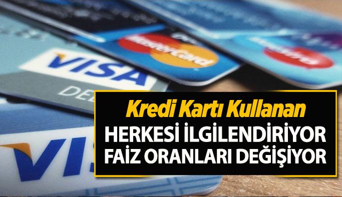Merkez Bankası, kredi kartlarındaki azami faiz oranlarında indirime gitti
