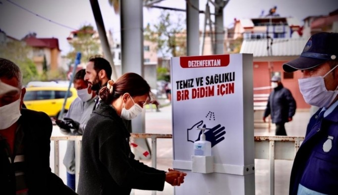 """Başkan Atabay; """"Halkın sağlığı bizim için her şeyden önemlidir"""""""