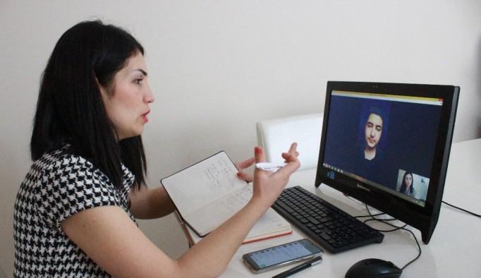 Uşak'ta Evde kalanlara 'online diyet' çözümü