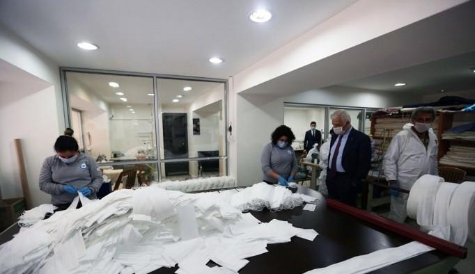 Muğla Büyükşehir 5 günde 12 bin maske üretti