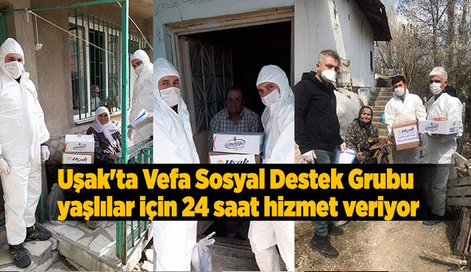 'Vefa' ekipleri 5 bin 792 vatandaşın talebini karşıladı