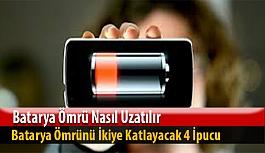 Akıllı Telefonlarda Batarya Ömrünü İkiye Katlayacak 4 İpucu