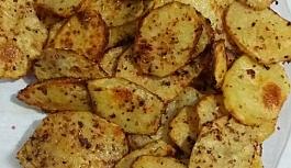 Fırında Yağsız Patates Kızartması
