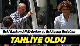 Eski Belediye Başkanı Erdoğan ve Eşi Tahliye Edildi