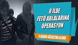 """Uşak Merkezli 8 İlde """"FETÖ ablaları"""" operasyonu"""