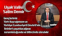 Vali Salim Demir'in 19 Mayıs Atatürk'ü Anma, Gençlik Ve Spor Bayramı Kutlama Mesajı