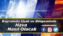 Uşak'ta Kurban Bayramında Hava Nasıl Olacak