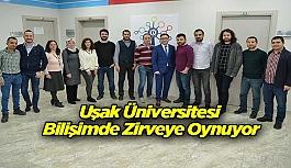 Uşak Üniversitesi Bilişimde Zirveye Oynuyor