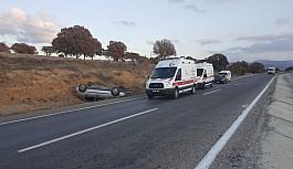 Uşak'ta Trafik Kazası: 1 Hafif Yaralı