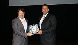 """Uşak Üniversitesi'nde  """"Akıllı Ürünler, Akıllı Fabrikalar"""" konulu konferans gerçekleştirildi"""