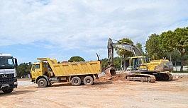Didim'de yol genişletme ve onarım çalışmaları sürüyor