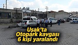 Uşak'ta otopark kavgasında kan aktı,...