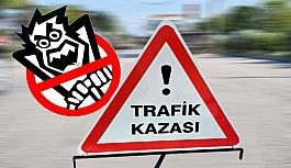 Uşak'ta Motosiklet Kazası 1 Ölü, 1...
