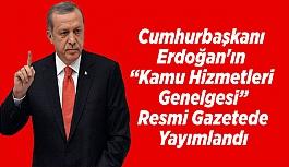 Cumhurbaşkanı Erdoğan'ın Kamu Hizmetleri...