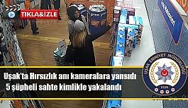 Hırsızlık anı kameralara böyle yansıdı...