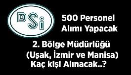 Devlet Su İşleri'ne 500 personel...