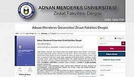 ADÜ Ziraat Fakültesi Dergisi online erişim...