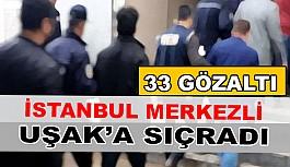 İstanbul Merkezli FETÖ Operasyonu Uşak'a...