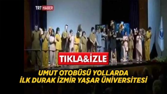 """Umut Otobüsü""""nün Floransa'dan önceki durağı İzmir Yaşar Üniversitesi oldu"""