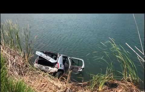 Uşak'ta Otomobil Sulama Göletine Yuvarlandı: 4 Ölü