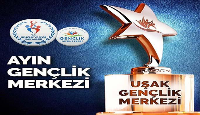 Türkiye'de Temmuz Ayı birincisi Uşak Gençlik Merkezi