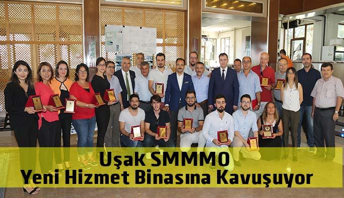 Uşak SMMMO Yeni Hizmet Binasına Kavuşuyor