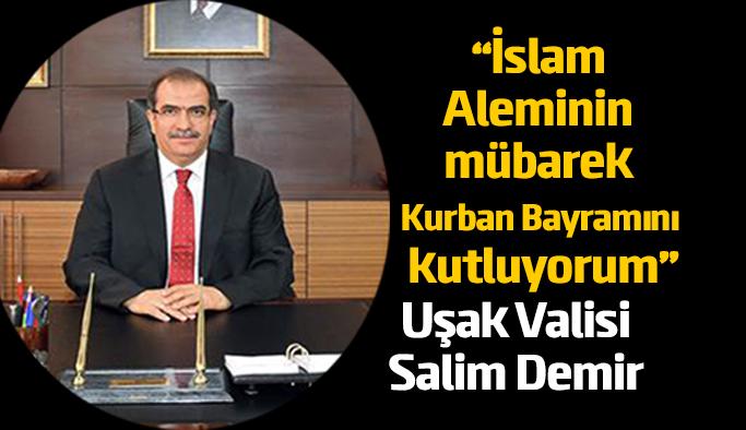 Vali Salim Demir'in Kurban Bayramı Tebrik Mesajı