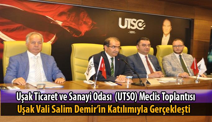 Utso Meclis Toplantısı Vali Salim Demir'in Katılımıyla Gerçekleşti