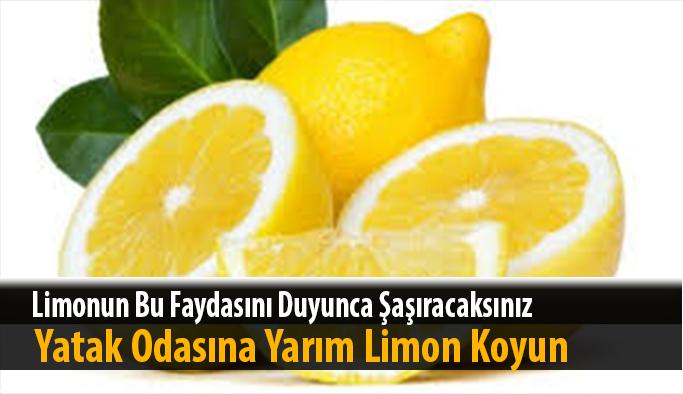 Limonun hiç bilinmeyen bir faydası varmış