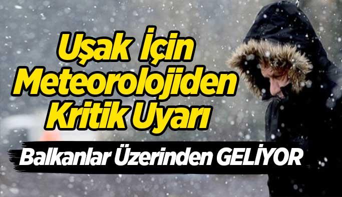 Meteoroloji uyardı, Balkanlar üzerinden geliyor