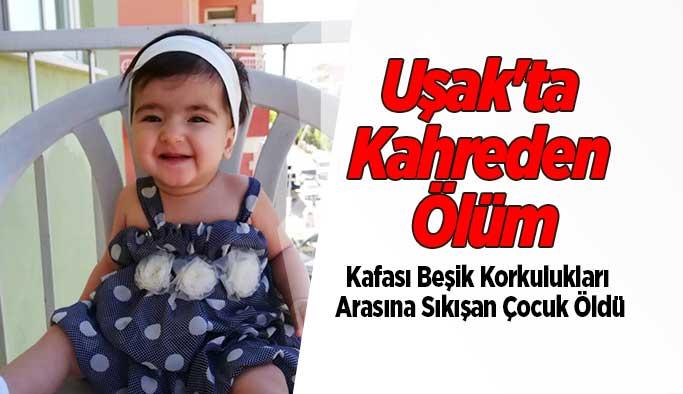 Uşak'ta Kahreden Ölüm, 2 Yaşındaki Bebek Hayatını Kaybetti