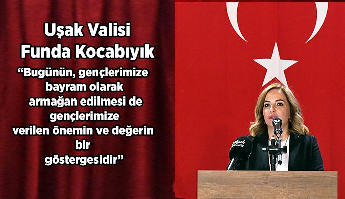 Vali Funda Kocabıyık'ın 19 Mayıs Atatürk'ü Anma Ve Gençlik Ve Spor Bayramı Mesajı