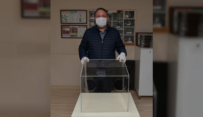 Başkan Gümrükçü'den bir ilk daha: Entübe kutusu