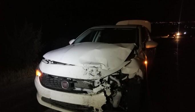 Uşak'ta Yaralanan Bekçinin Yakını Hastaneye Giderken Kaza Yaptı: 1 ölü