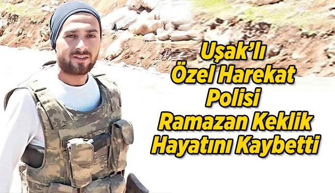 Uşak'lı Özel Harekat Polisi Hayatını Kaybetti