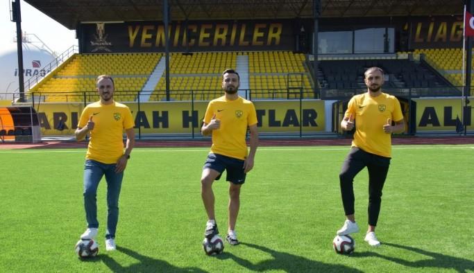 Aliağaspor FK, transferde hız kesmiyor