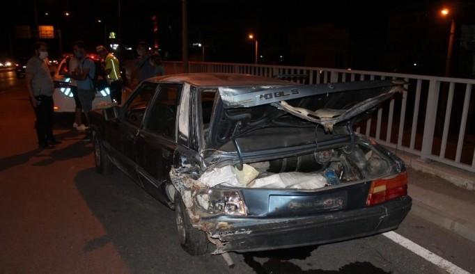 Aydın'da meydana gelen kazada 3 kişi yaralandı