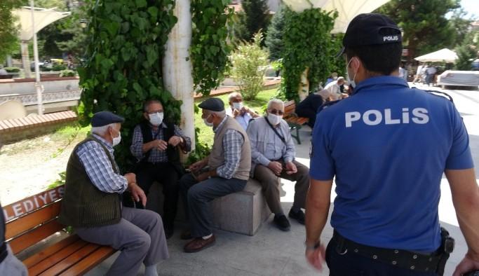 Denizli'de bir haftada maske takmayanlara 17 bin 100 TL cezai işlem uygulandı